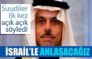 Suudi Arabistan: İsrail'le normalleşmenin olacağını...