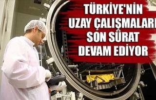 Türkiye'nin uzay çalışmaları son sürat...