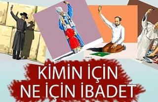 Azerbaycanlı Gündüz Ağayev'den selfie ibadetler...