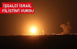 İsrail ordusu Gazze'deki Hamas'a ait noktaları...