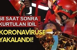 İzmir'deki depremden 58 saat sonra kurtarılan...