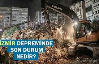 İzmir depreminde son durum nedir? İzmir depreminde...