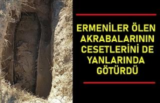 Kelbecer'i terk eden Ermeniler ölen akrabalarının...