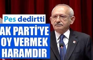 Kemal Kılıçdaroğlu'na göre AK Parti'ye...