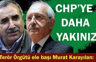 Murat Karayılan: CHP'ye daha yakınız