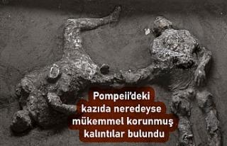 Pompeii'deki kazıda efendi ve kölesinin 'neredeyse...