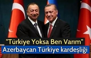 """""""Türkiye Yoksa Ben Varım"""" Azerbaycan Türkiye..."""