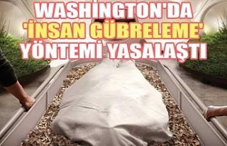 Washington'da 'insan gübreleme' yöntemi...