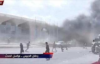 Aden Havalimanında patlama
