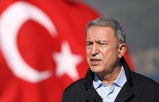 Bakan Akar: ABD'nin yaptırım kararı NATO ittifakını...