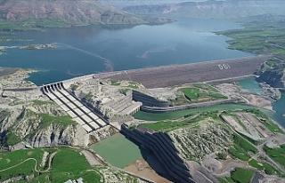 Bakan Pakdemirli: Ilısu Barajı tam kapasiteyle elektrik...