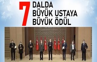 Cumhurbaşkanlığı Kültür ve Sanat Büyük Ödülleri...