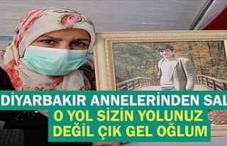 Diyarbakır annelerinden Salim: O yol sizin yolunuz...