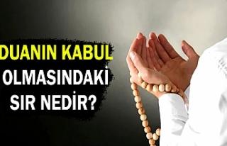 Duanın kabul olmasındaki azim sır ne?