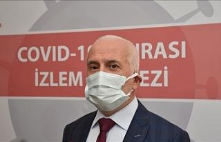 "Eskişehir Şehir Hastanesinde ""Kovid-19 İzlem..."