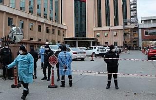 Gaziantep'te hastanede yoğun bakımda çıkan...