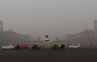 Hindistan'da hava kirliliği geçen yıl 1,67...