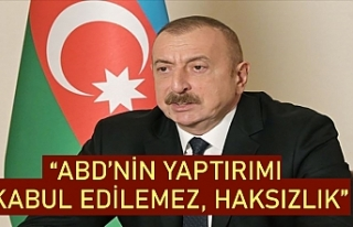 İlham Aliyev'den ABD'nin Türkiye'ye...