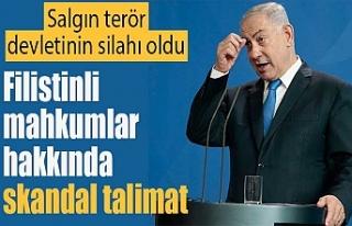 İsrail'den Filistinli mahkumlar hakkında skandal...
