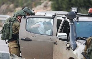 İsrail güçleri 2020'de 4 bin 634 Filistinliyi...