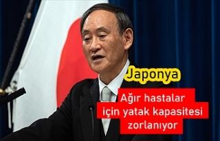 Japonya Başbakanı Suga: Ağır hastalar için yatak...