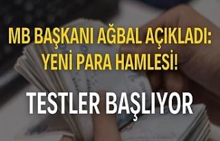 MB Başkanı Ağbal açıkladı: Yeni para hamlesi!