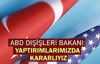 Pompeo: Türkiye'yi bir an önce ABD ile koordinasyon...