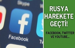 Rusya harekete geçti! Facebook, Twitter ve YouTube...