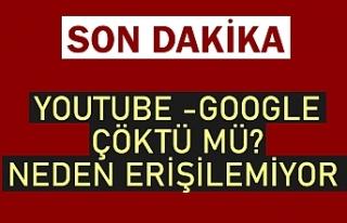 SON DAKİKA || YouTube -Google çöktü mü, neden...