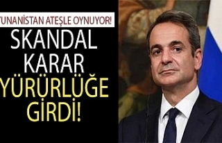 Son dakika: Yunanistan ateşle oynuyor: Skandal karar...