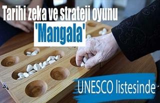 Tarihi zeka ve strateji oyunu 'Mangala'...