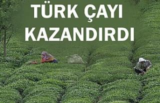 Türk çayı 15 milyon dolar kazandırdı