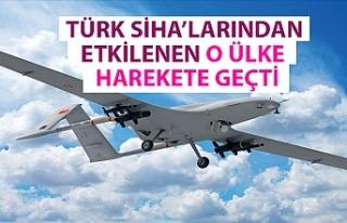 Türk SİHA'larının başarısından etkilenen...