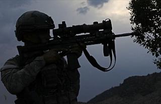 Barış Pınarı bölgesinde 8 PKK/YPG'li terörist...