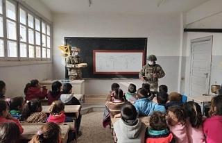 Barış Pınarı bölgesinde mayın ve EYP eğitimi...