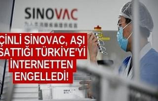 Çinli Sinovac, aşı sattığı Türkiye'yi...