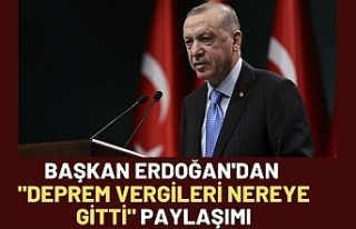 Cumhurbaşkanı Erdoğan: Elazığ'da vatandaşlarımıza...