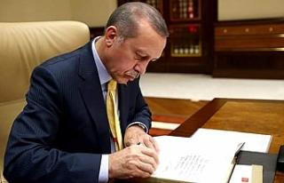 Cumhurbaşkanı Erdoğan'ın imzasıyla yayımlandı:...