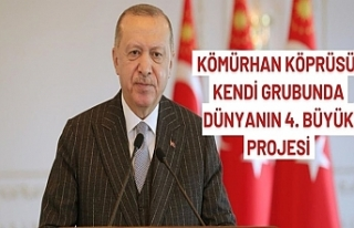 Cumhurbaşkanı Erdoğan: Kömürhan Köprüsü, kendi...