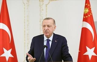 Cumhurbaşkanı Erdoğan: Salgın çeşitli sıkıntılar...
