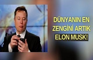 Elon Musk, artık dünyanın en zengini