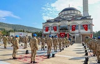 İçişleri Bakanı Süleyman Soylu, komando okulunda...