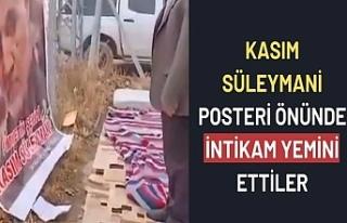 Kahramanmaraş'ta dernek üyeleri Kasım Süleymani...