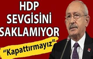 Kemal Kılıçdaroğlu: HDP'nin kapatılması...