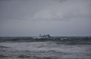 Son Dakika:Karadeniz'de batan kuru yük gemisinden...