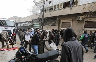 Suriye'nin kuzeyindeki Azez ve Bab ilçelerinde...