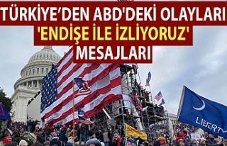 Türkiye'den ABD'deki olayları 'endişe...