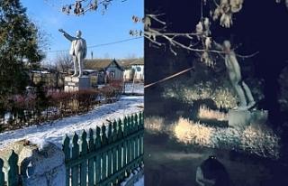 Ukrayna'da Lenin heykeli kalmadı