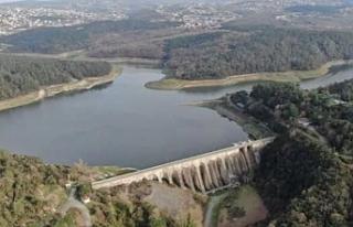 Yağışlarla birlikte İstanbul barajlarındaki artış...