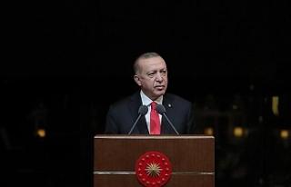 Cumhurbaşkanı Erdoğan: 'Dünya Dili Türkçe'...